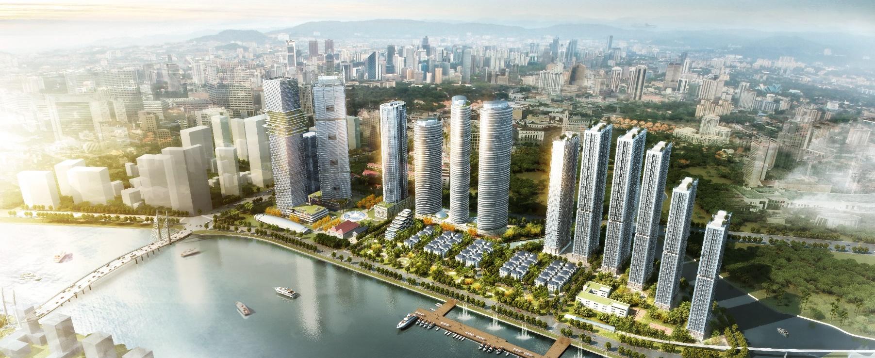 Phối cảnh dự án Vinhomes Golden River Ba Son