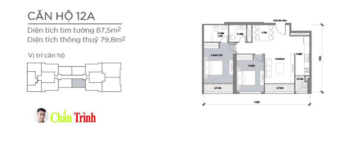 Thiết kế căn hộ 12A- Park 2