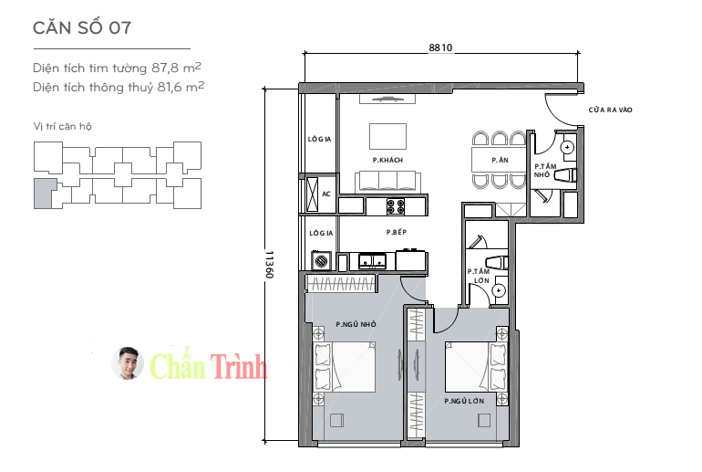 Thiết kế căn hộ L3-44.07 Vinhomes Central Park