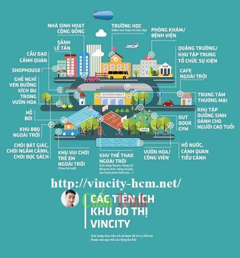 Tiện ích dự án Vincity Quận 9
