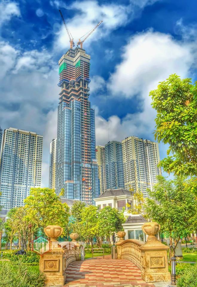 Hình ảnh đẹp như bức tranh của tòa Landmark 81