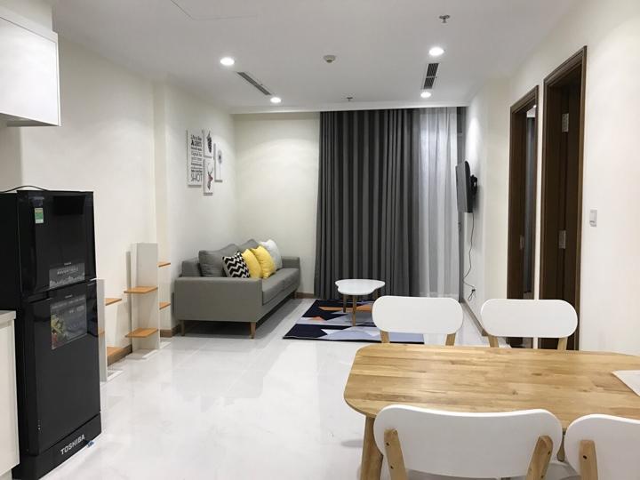 Cho thuê 1 phòng ngủ Vinhomes Central Park full nội thất đẹp