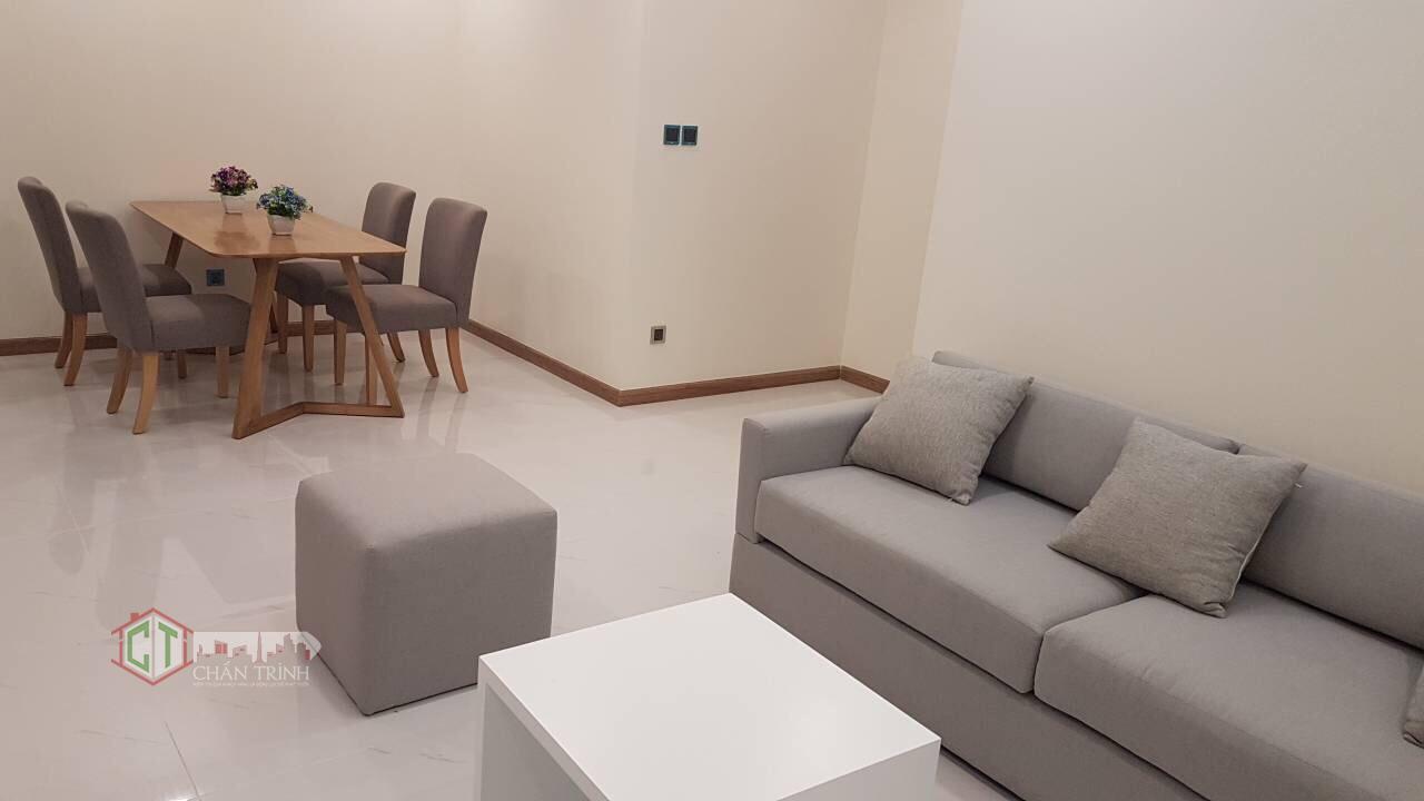 Sofa và Bàn ăn căn hộ 2 phòng ngủ Vinhomes Central Park