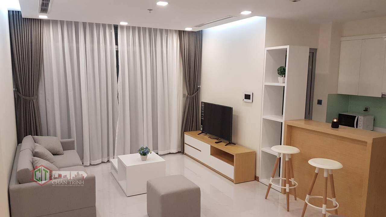 Phòng khách căn hộ 2 phòng vinhomes central park ( tân cảng )