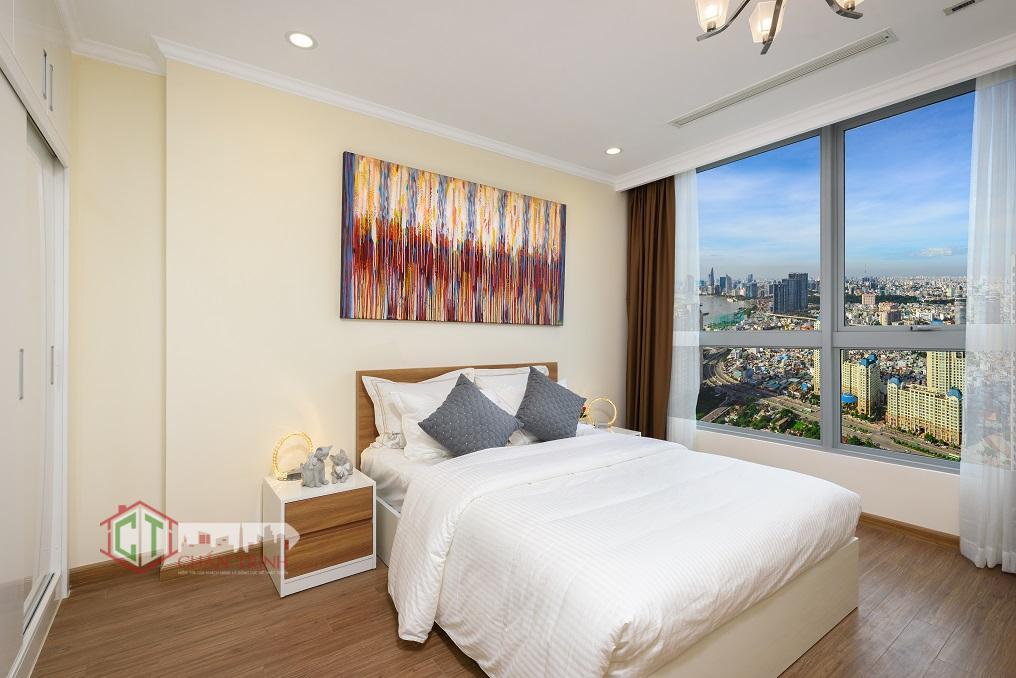 Thiết kế phòng ngủ 03 tại Landmark Plus cho thuê - Vinhomes Central Park