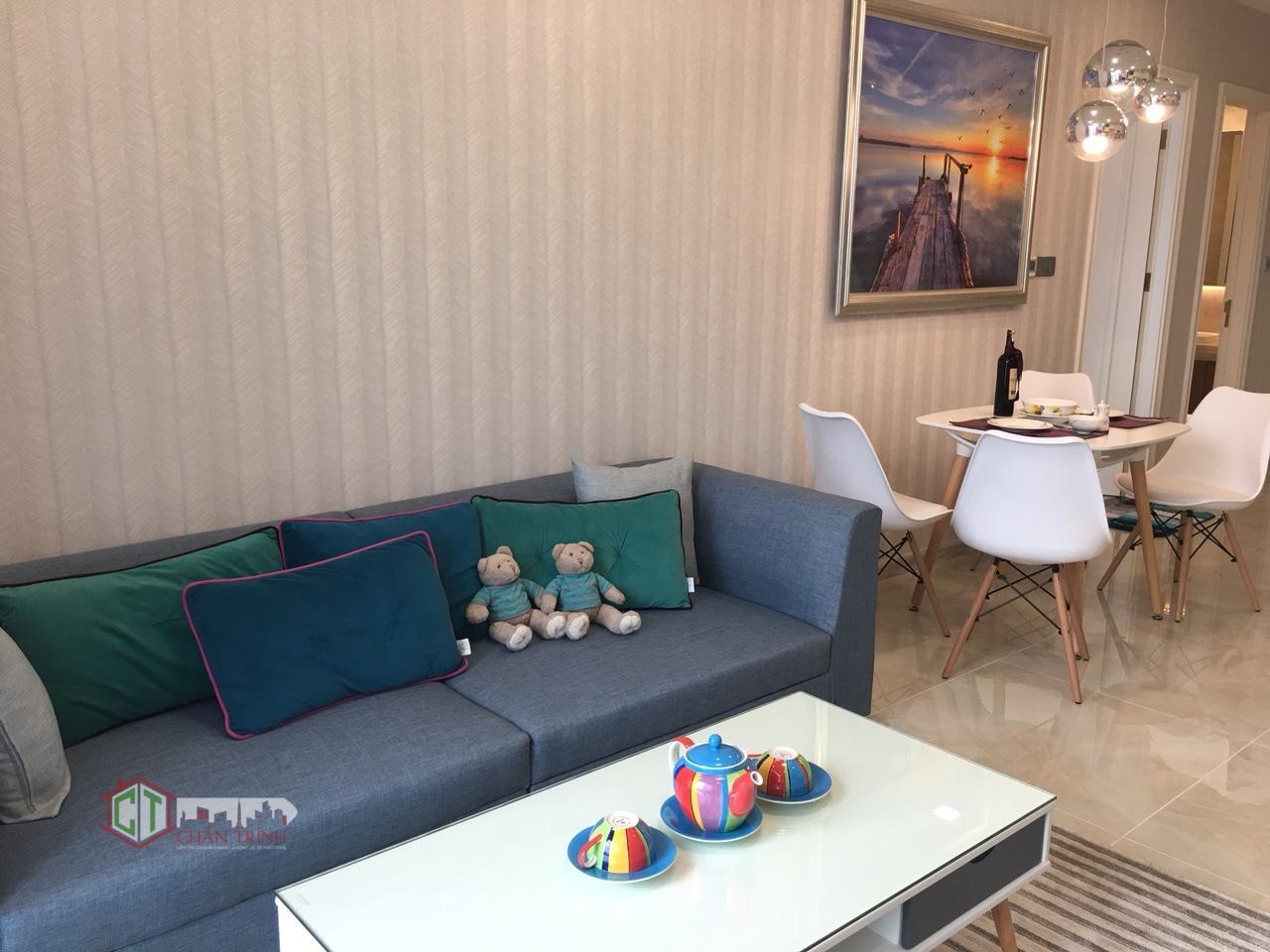 Căn hộ 1 phòng ngủ Vinhomes Golden River cho thuê full nội thất