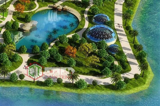 Nhà phố Vinhomes River Park Quận 9 - Vincity ( hình minh họa )