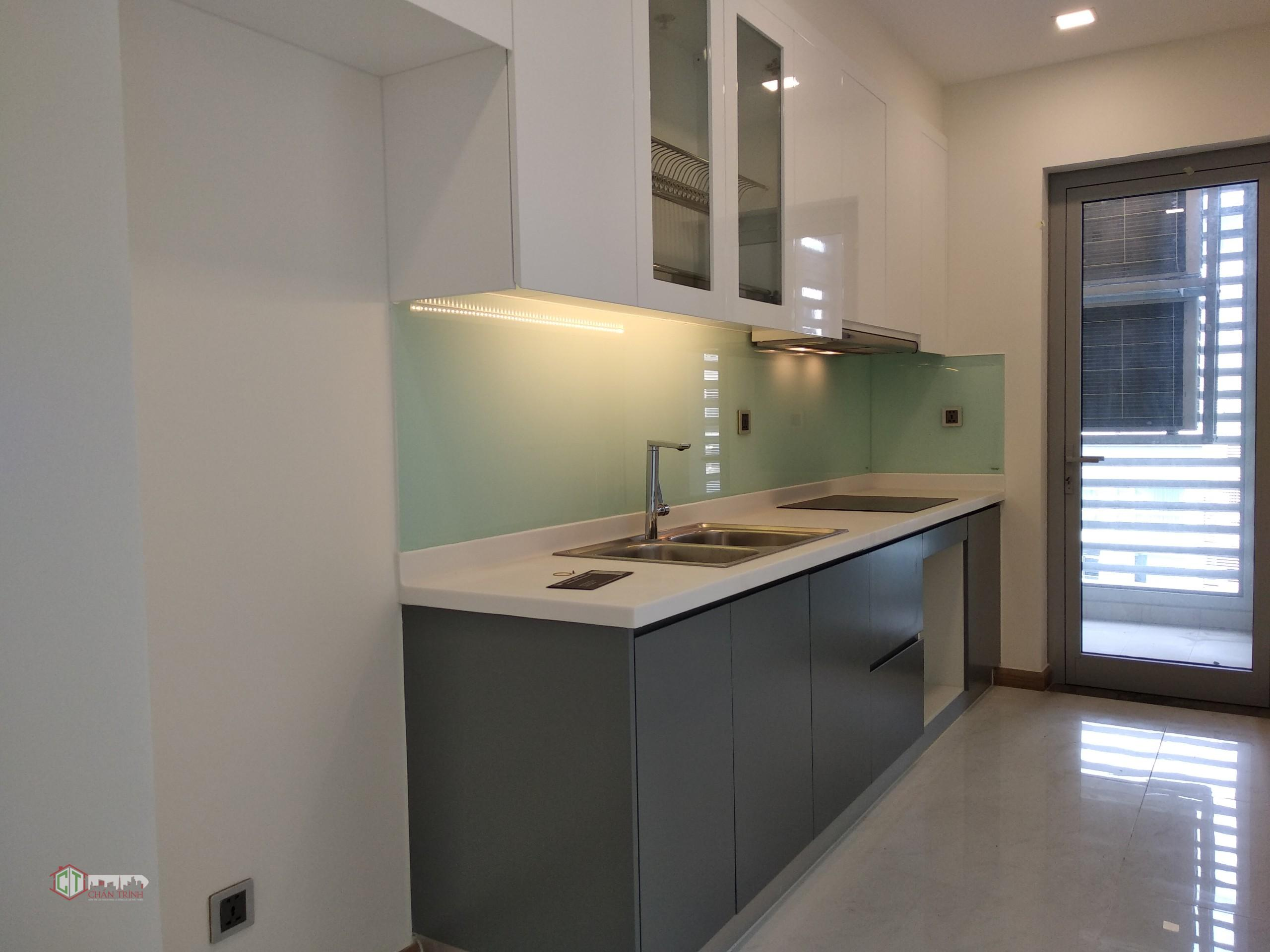 Phòng bếp căn hộ 2 phòng Vinhomes Central Park