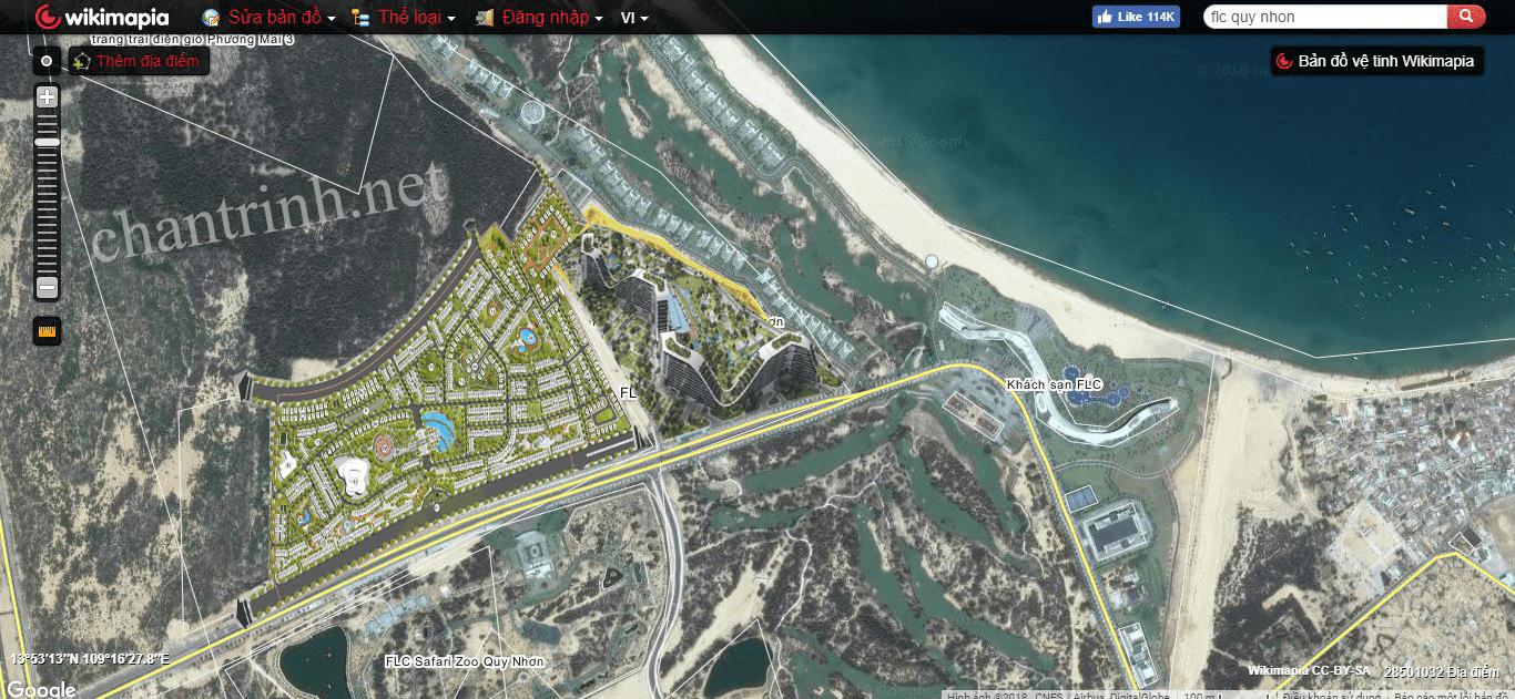 FLC Lux City Quy Nhơn mở bán đợt mới vào ngày 19/05/2018 này - Phối cảnh maps dự án