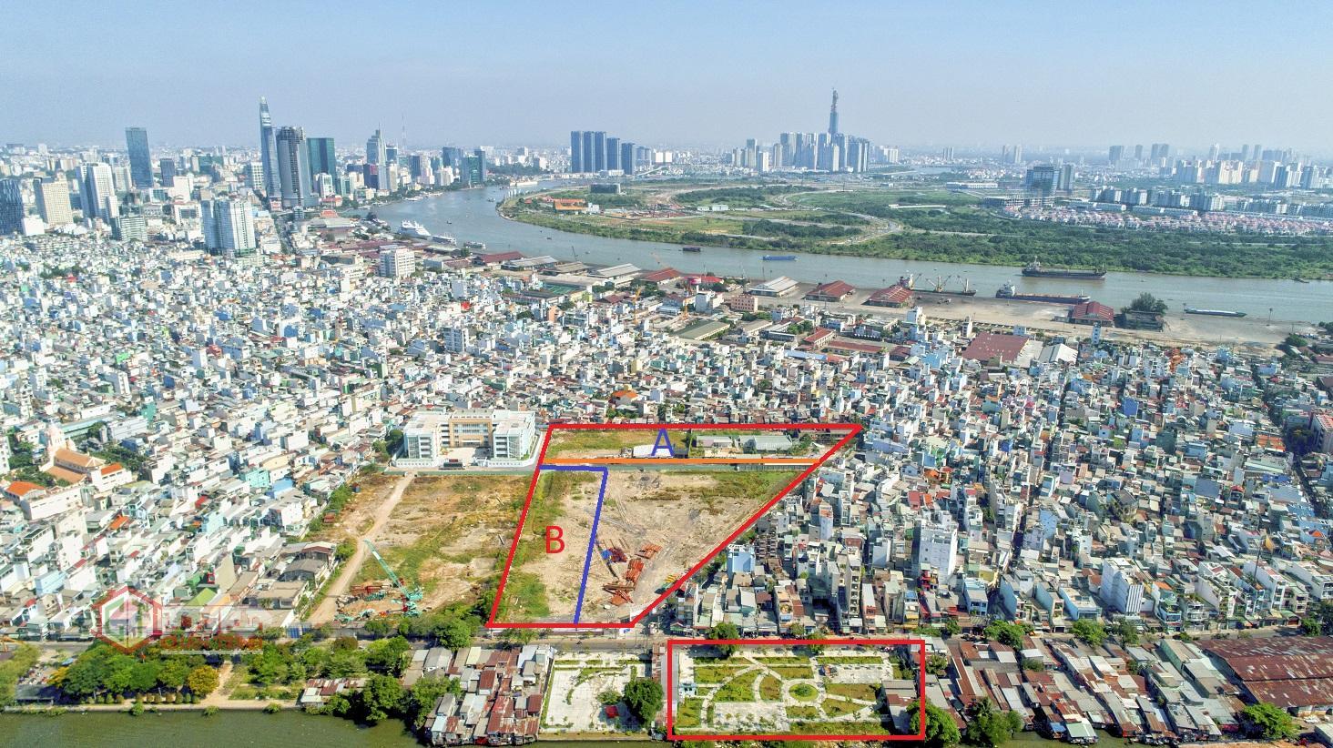 Vị trí dự án 76 Tôn Thất Thuyết, Phường 16, Quận 4 TP HCM