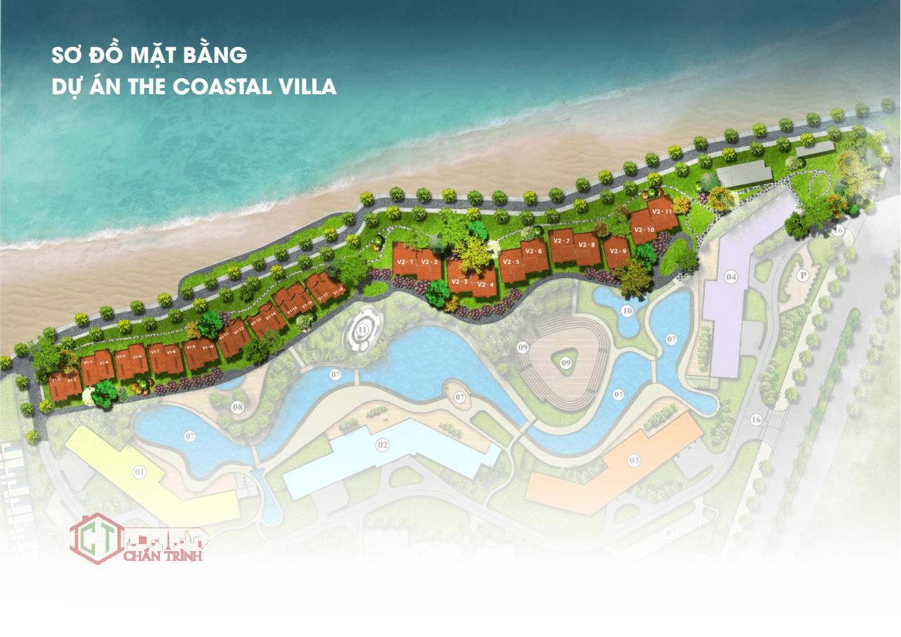 Coastal Hill Villa - Mặt bằng 29 căn biệt thự view biển