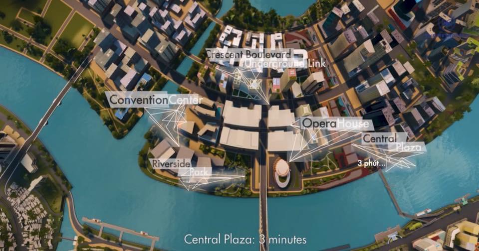 Metropole Thủ Thiêm Quận 2, với vị trí vài bước chân tới các dịch vụ trọng yếu