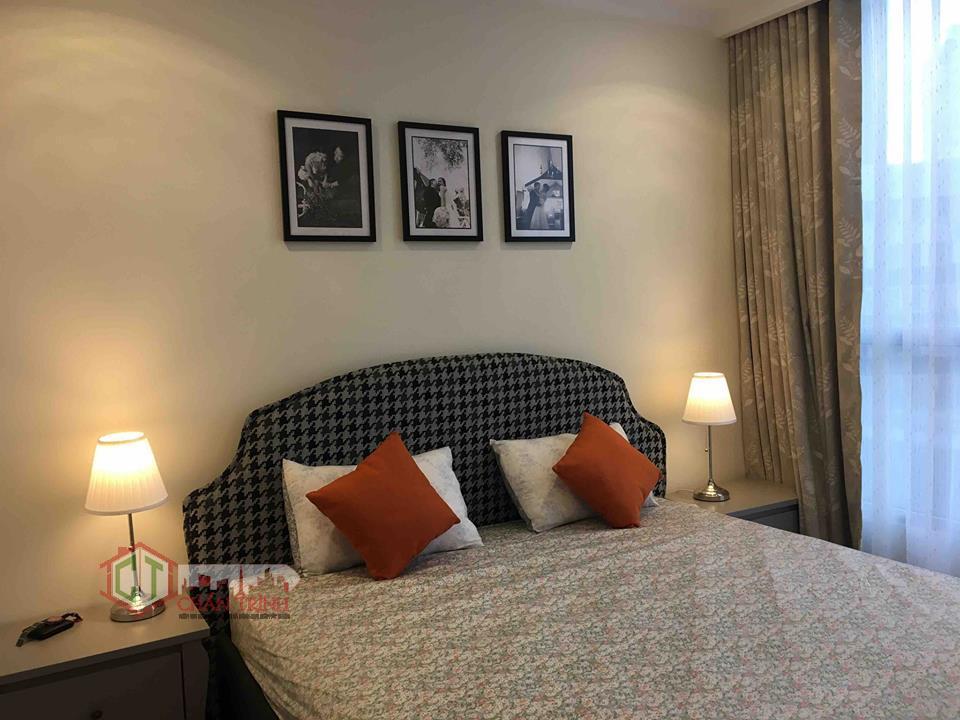 Căn hộ 3 phòng ngủ Landmark - Vinhomes Central Park - Khu vực phòng ngủ.
