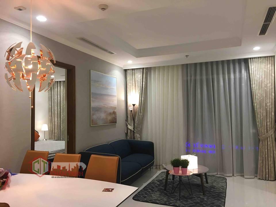 Căn hộ 3 phòng ngủ Landmark - Vinhomes Central Park - Phòng khách