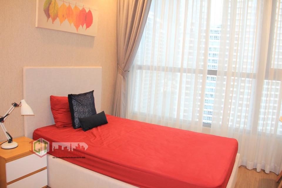 Phòng ngủ 2 của căn 2 phòng ngủ Vinhomes Tân Cảng