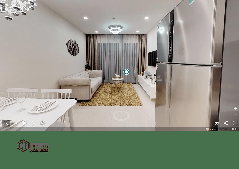 Thiết kế 3 phòng ngủ Vincity Grand Park