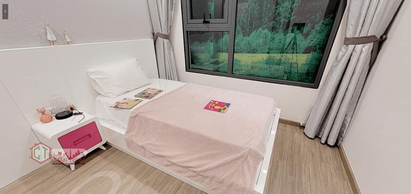 Thiết kế 3 phòng ngủ Vincity Grand Park - Phòng ngủ 2 ( dự kiến )