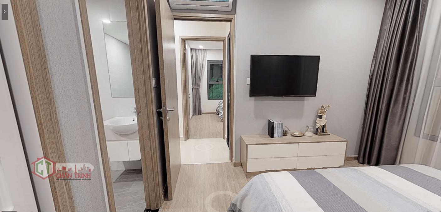 Thiết kế 3 phòng ngủ Vincity Grand Park - Phòng khách & bếp ( dự kiến )