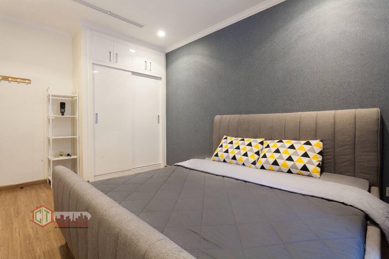 Mặt trong của Phòng ngủ căn 1 phòng ngủ landmark 2 vinhomes central park - hình thực tế.