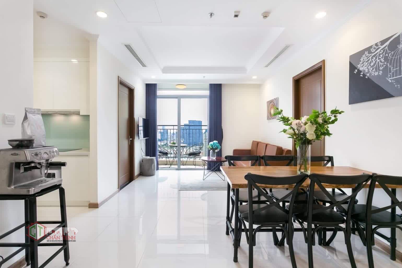 Phòng khách căn hộ Landmark 3 Vinhomes Central Park