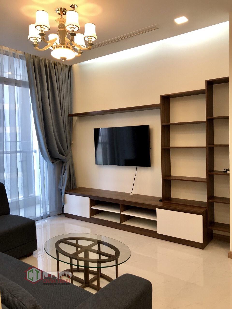 Phòng khách căn hộ 2 phòng ngủ - Park 3 Vinhomes Central Park