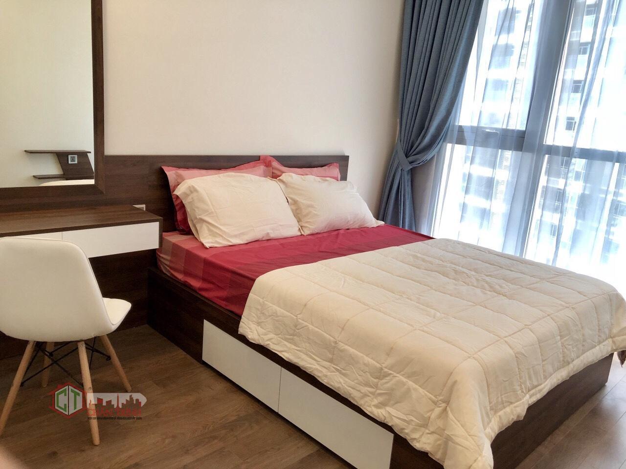 Phòng ngủ căn hộ 2 phòng ngủ - Park 3 Vinhomes Central Park