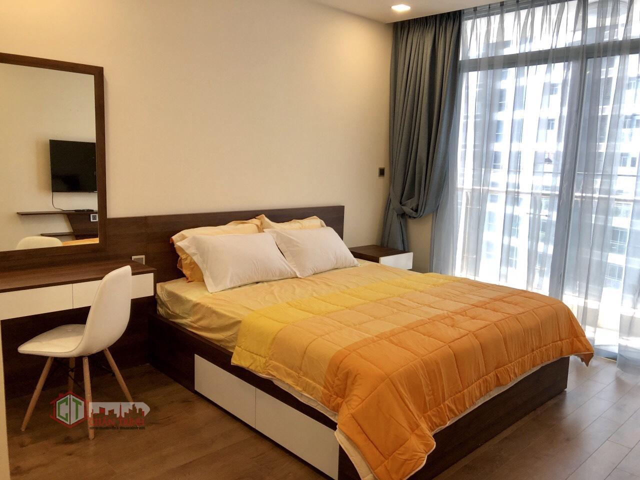 Phòng ngủ 2 căn hộ 2 phòng ngủ - Park 3 Vinhomes Central Park