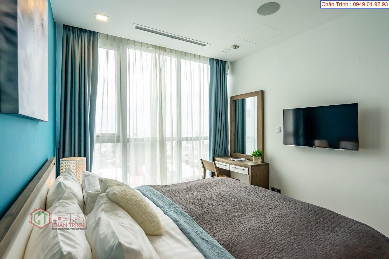 Phòng ngủ 2 căn hộ Park 6 - 2PN Vinhomes Central Park