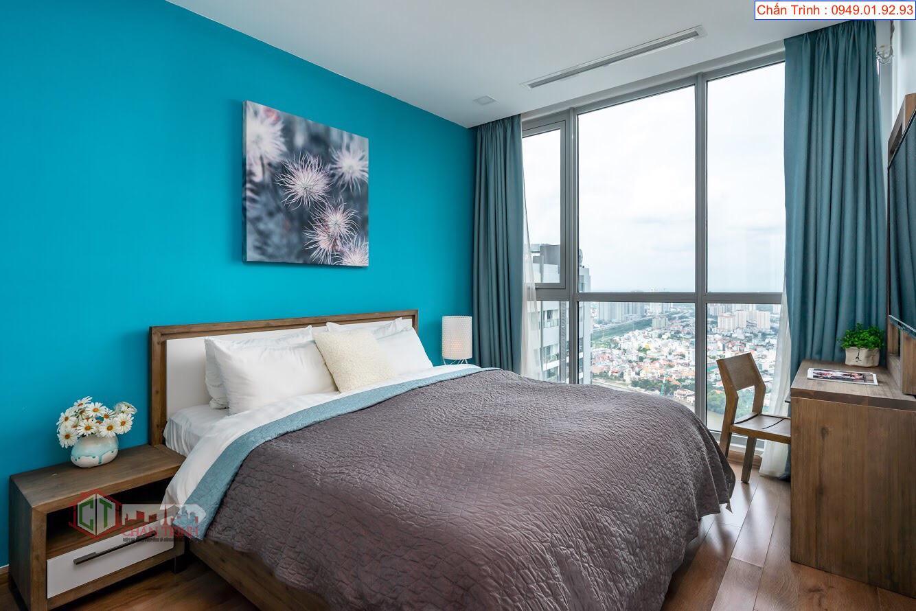 Phòng ngủ căn hộ Park 6 - 2PN Vinhomes Central Park