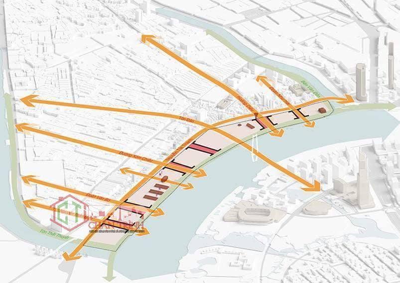 Giao thông tại dự án cảng khánh hội trong tương lai