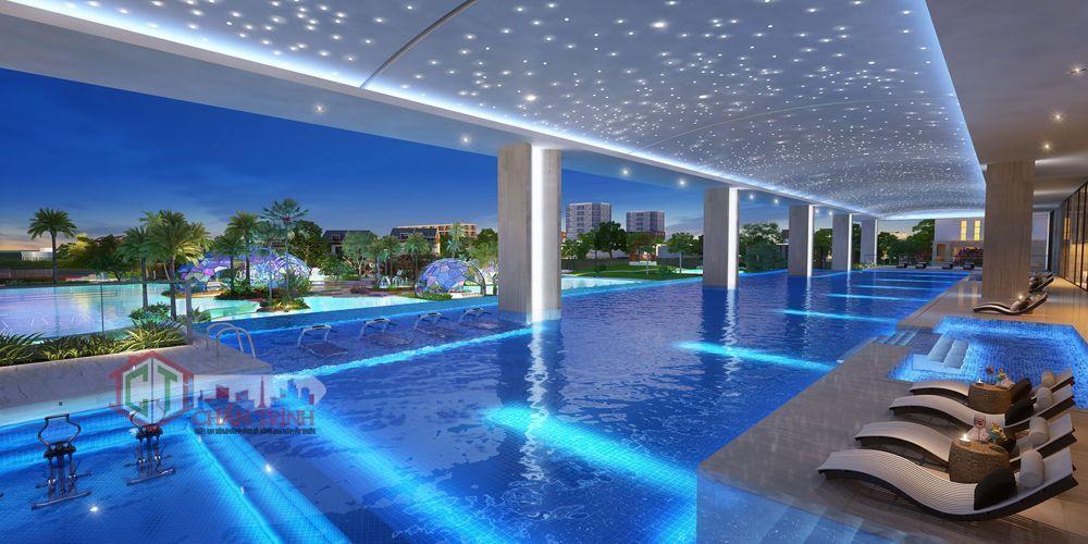 The Grand ManhattanHồ bơi căn hộ - Hình minh họa