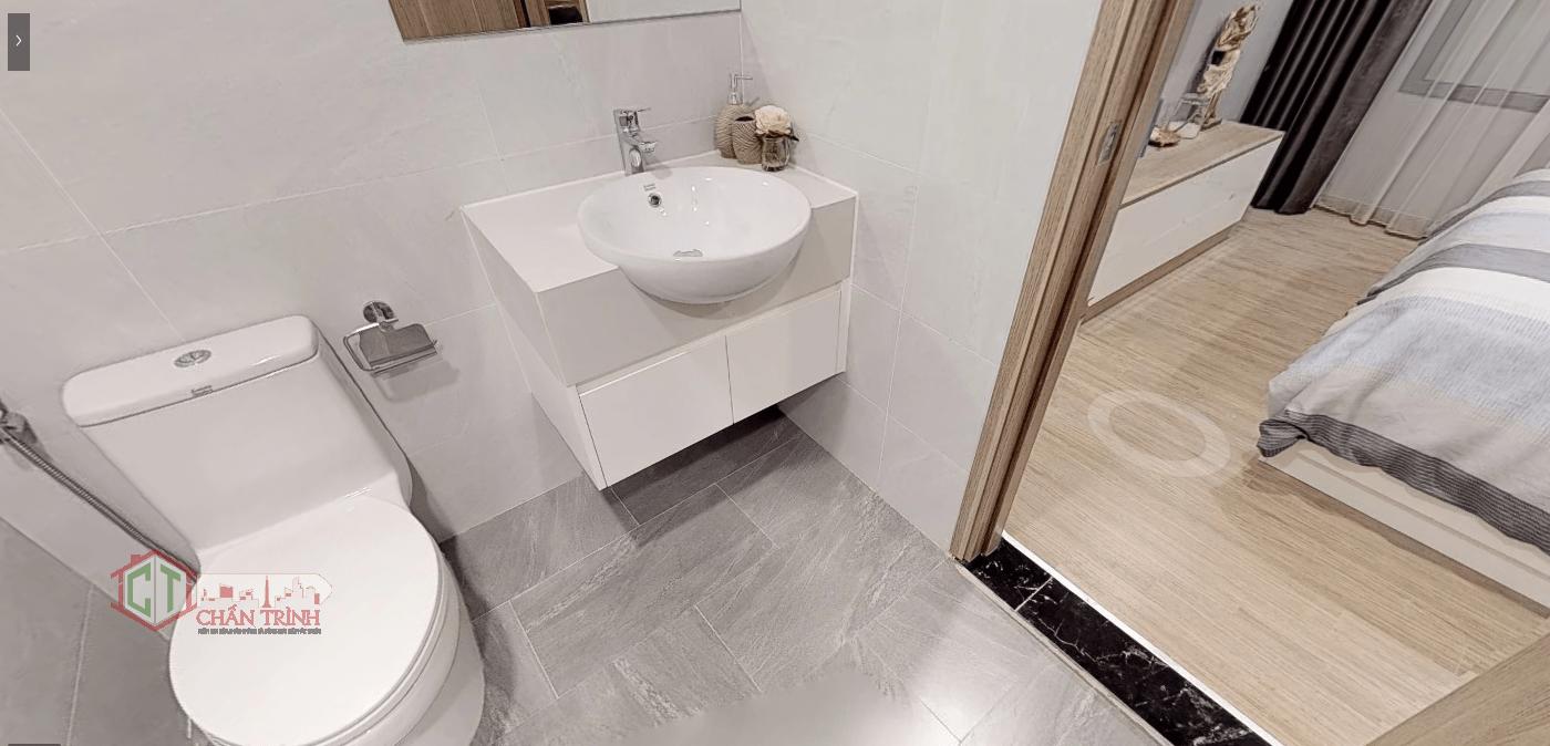 Thiết kế 3 phòng ngủ Vincity Grand Park - Nhà vệ sinh trong phòng ngủ chính ( dự kiến )