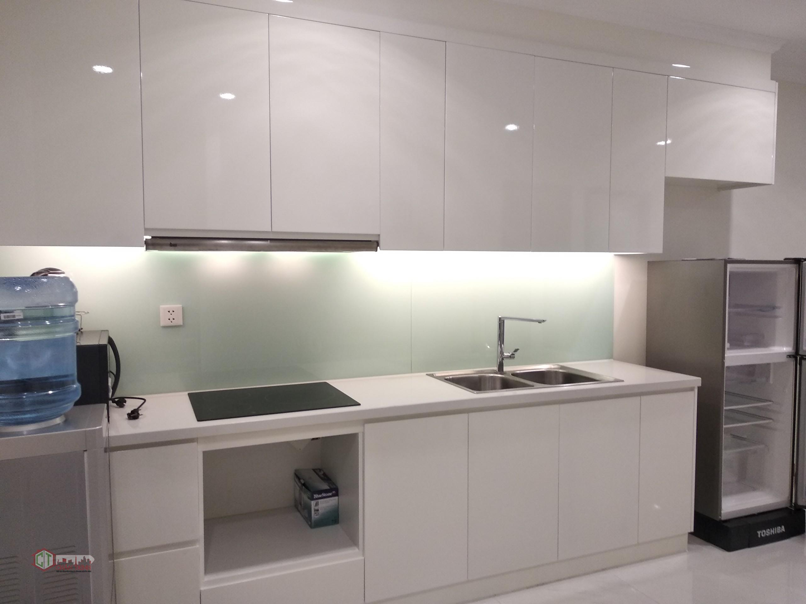 Khu Vực Bếp- Căn hộ 1 phòng ngủ L3-10.12 cho thuê Vinhomes Central Park