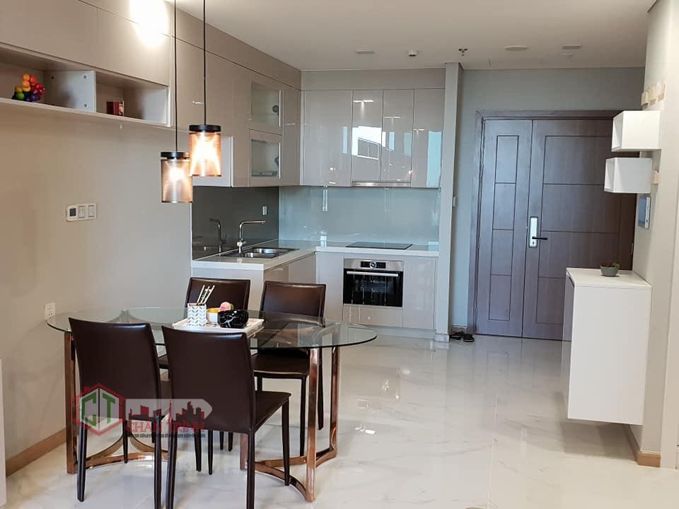 Cho thuê căn hộ Landmark 81 Vinhomes Central Park - Khu vực bếp