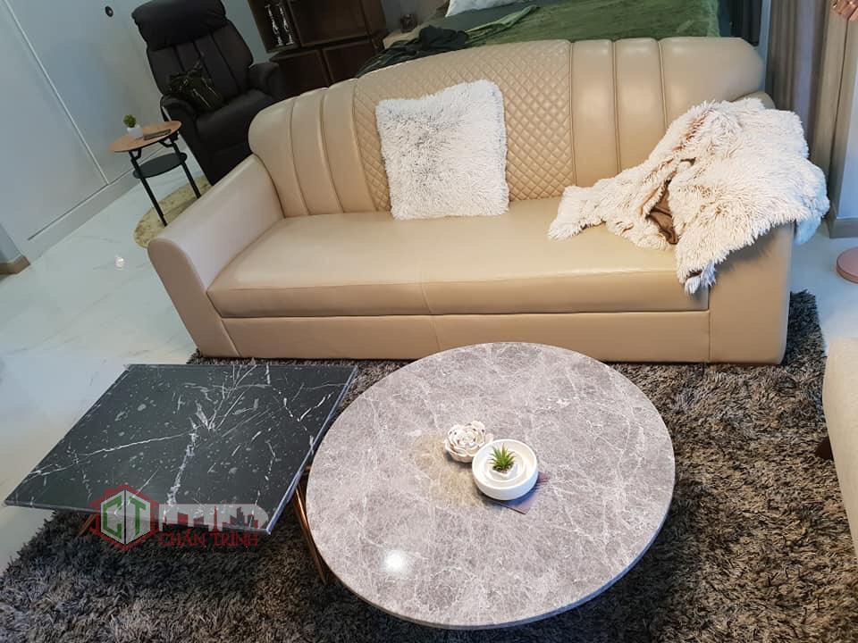 Cho thuê căn hộ Landmark 81 Vinhomes Central Park - Sofa Phòng khách