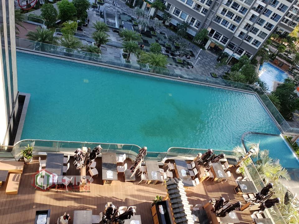 Cho thuê căn hộ Landmark 81 Vinhomes Central Park - View hồ bơi lớn Landmark 81