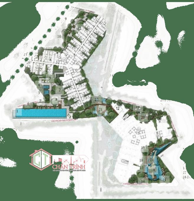 Thiết kế hình cánh quạt tại Dự án Metro Star Quận 9