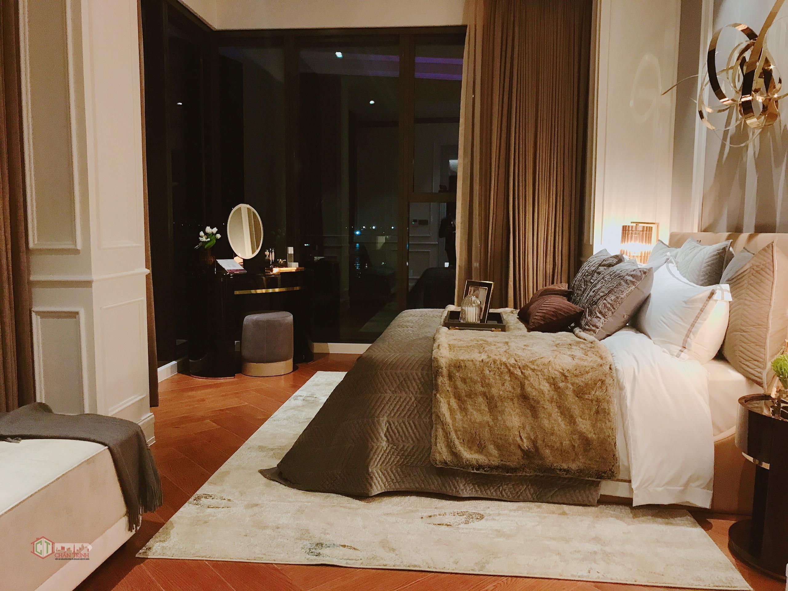 Phòng ngủ căn hộ 2 phòng ngủ The Centennial - Nhà mẫu dự án The Centennial