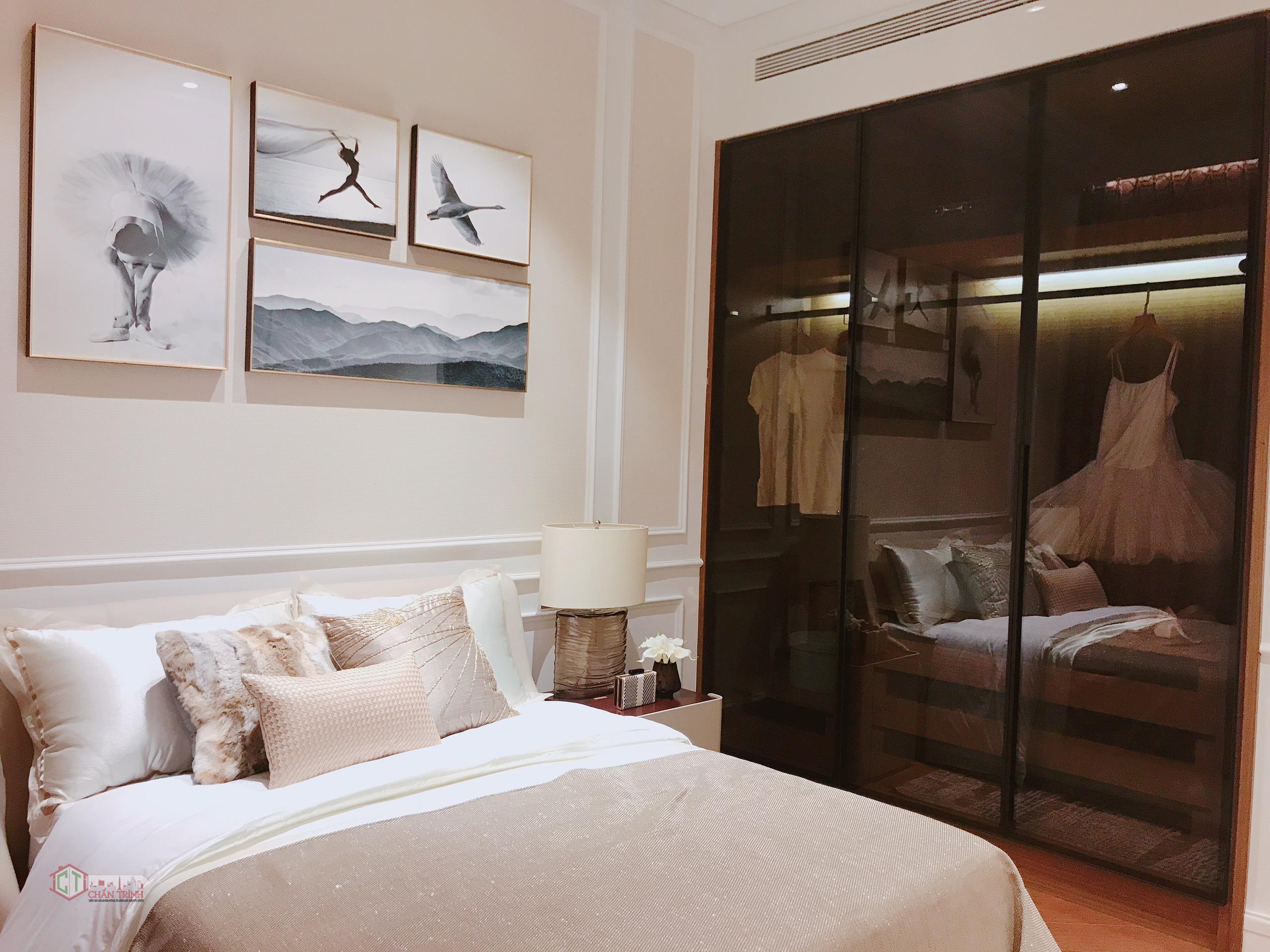 Phòng ngủ căn hộ The Centennial - Nhà mẫu dự án The Centennial