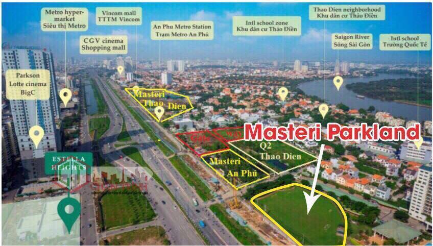 Dự án Masteri Park Land Quận 2