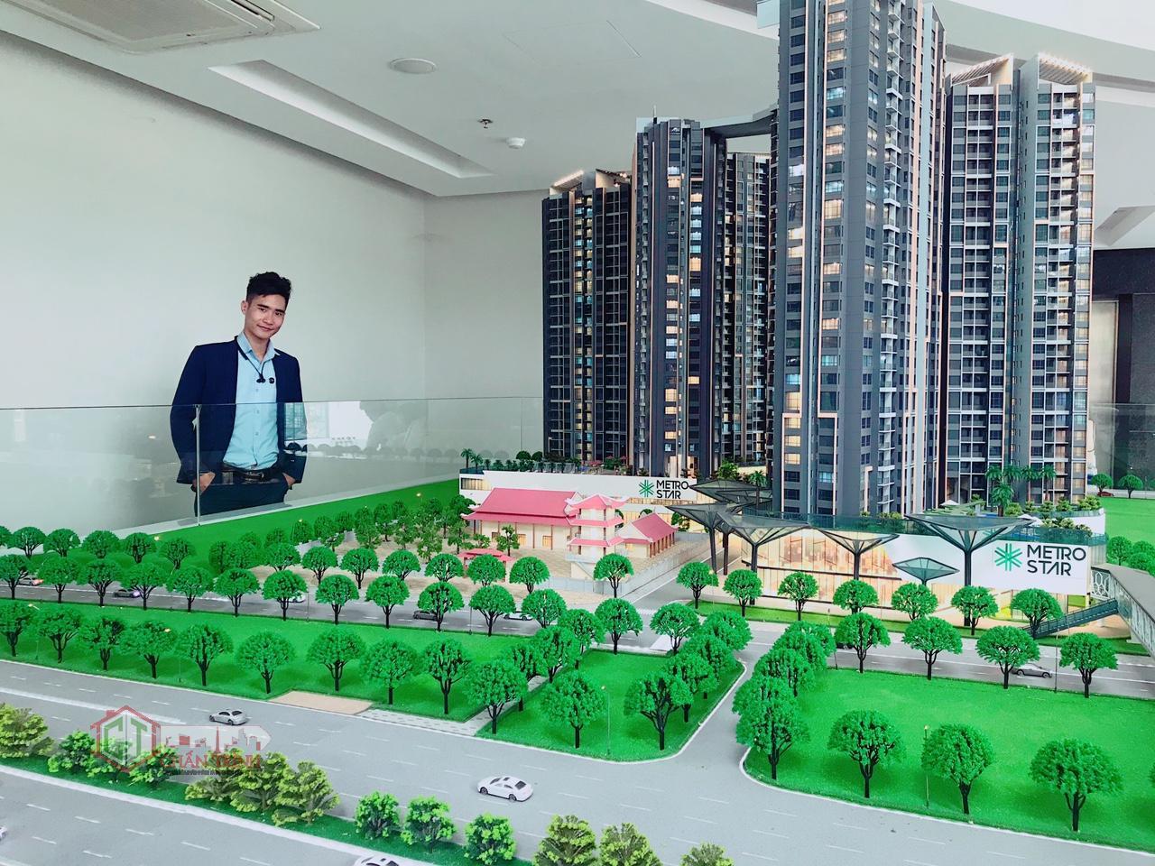 Sa Bàn dự án Metro Star Quận 9