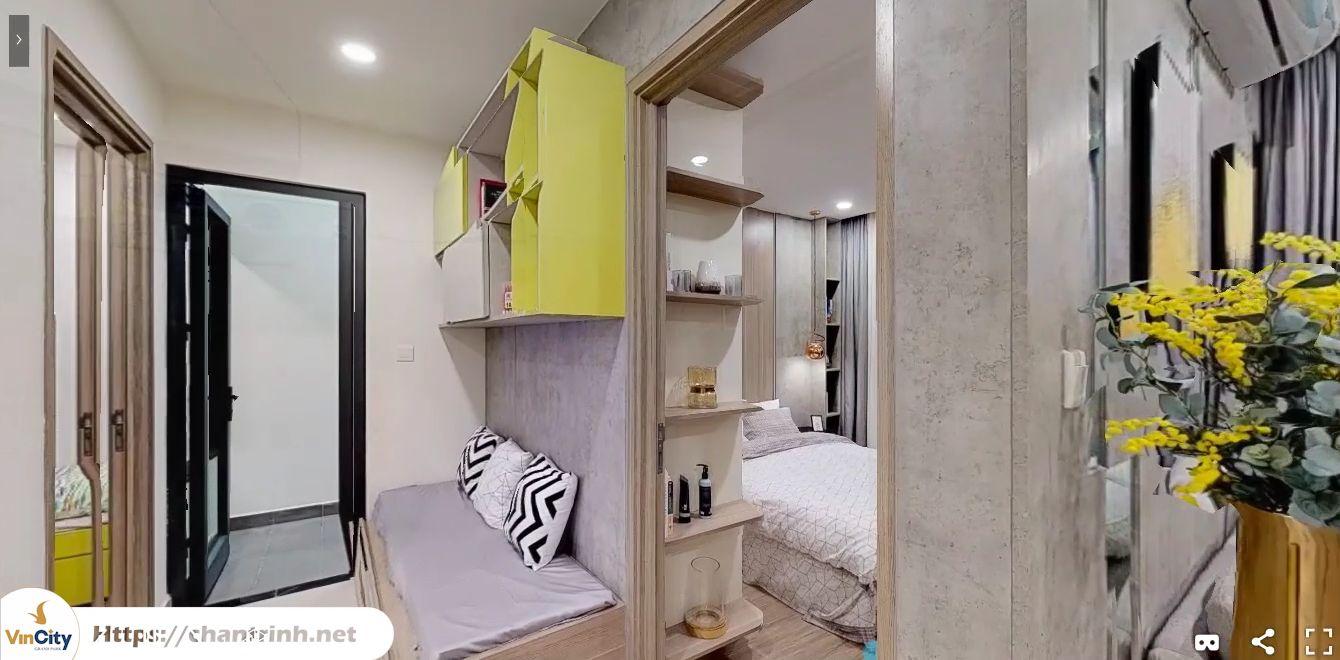 Không gian đa năng của căn hộ 2 phòng ngủ vincity
