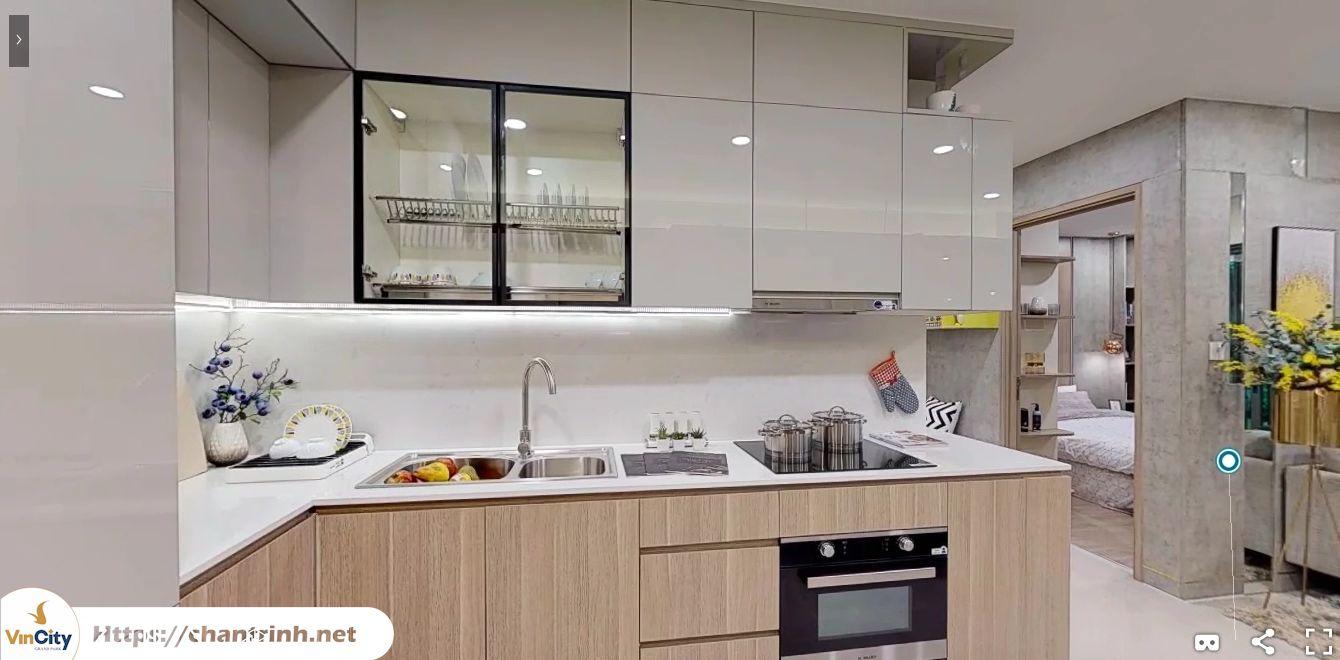 Phòng bếp căn hộ 2 phòng ngủ vincity