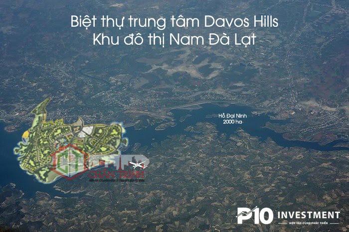 VỊ TRÍ KHU ĐÔ THỊ TRUNG TÂM ( DAVOS HILLS )