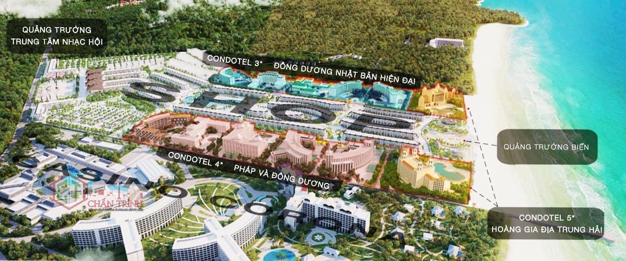Phối cảnh 3D từng phân khu dự án Grand World Phú Quốc