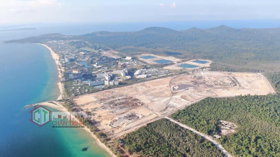 Toàn cảnh khu dự án Grand World Phú Quốc