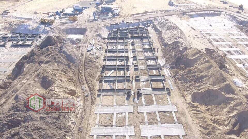 Hạ tầng dự án Grand World Phú Quốc đang tốc lực triển khai.