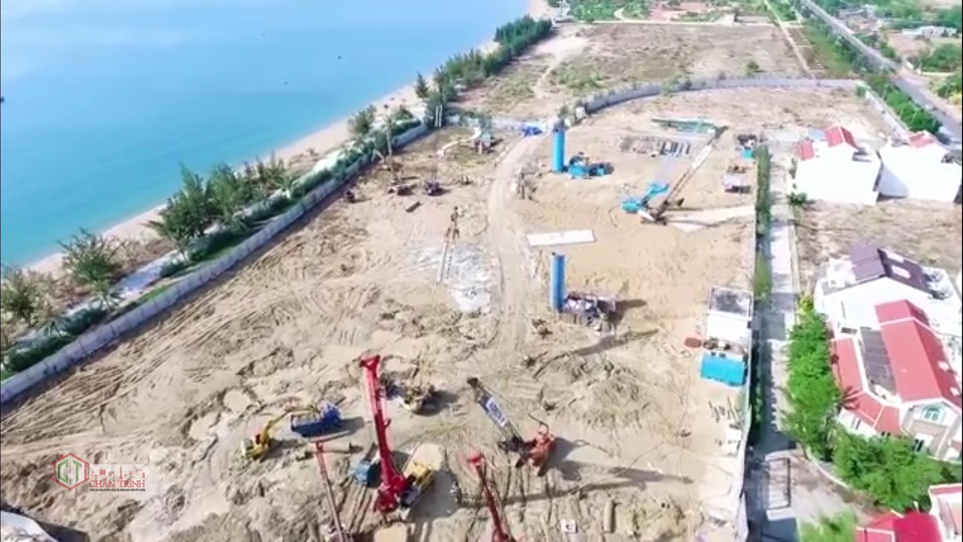 Khung cảnh trên cao về tiến độ Sunbay Park