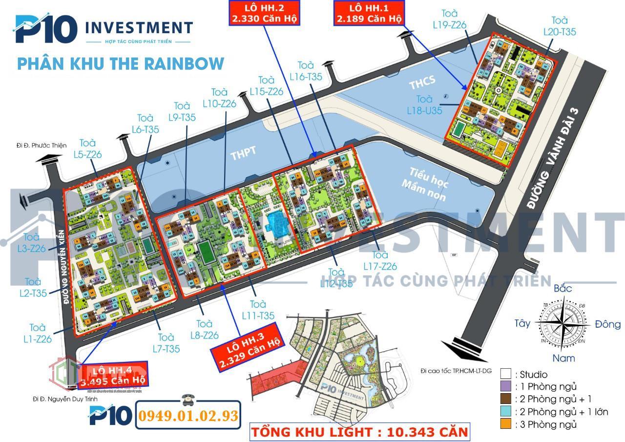 The Rainbow Vinhomes Grand Park sẽ là phân khu mở đầu tiên - Hình ảnh dự kiến