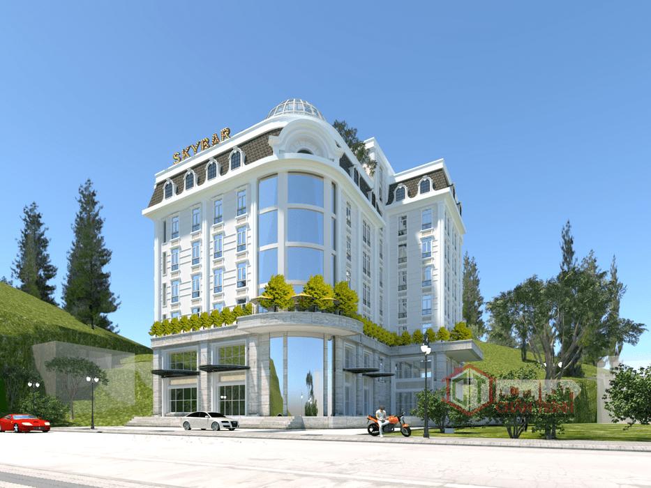 Dự án Green Pine Đà Lạt - Green Pine Dalat Boutique Hotel - Phối Cảnh